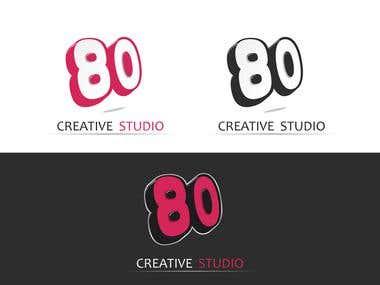 80 Creative Studio Logo Design