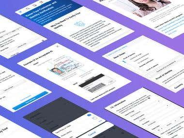 Mobile App UI for Freelancer.com