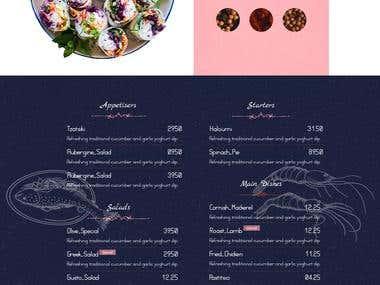 Restaurant website.