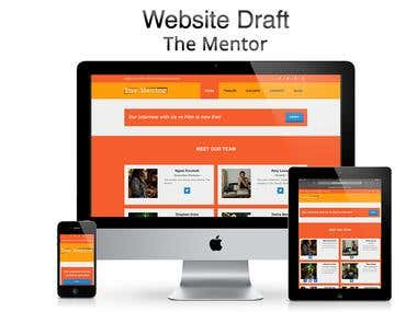 The Mentor Website Design