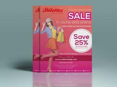 Sale Flyer Design