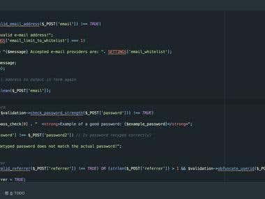 Working environment in PHPStorm