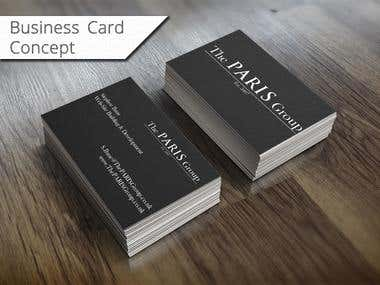 The PARIS Group Business Cards
