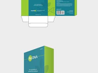 Packaging Design Concept for PRO DNA