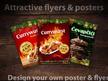 Posters And Flyer Designing