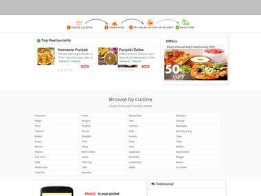 ONLINE FOOD ORDER