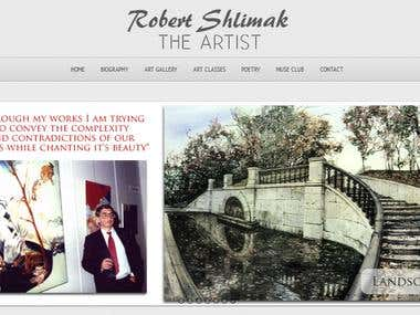 Robert Shlimak The Artist