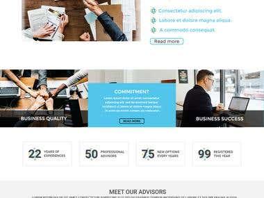 Company type website.