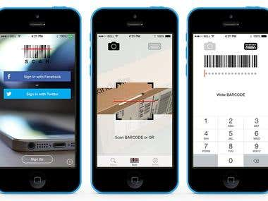 QR & Bar , Chatting code App - Android