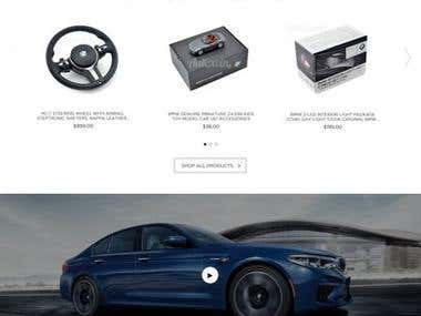 CAR parts online store Shopify