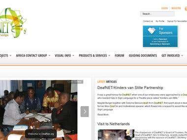 Deafnet Website
