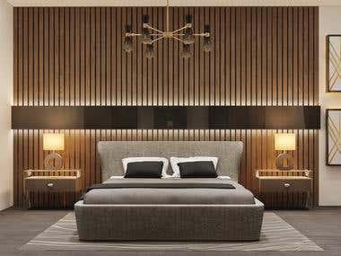 Wooden Planks Room