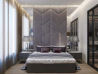 Cushioned Room Interior