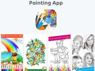 Painting app design