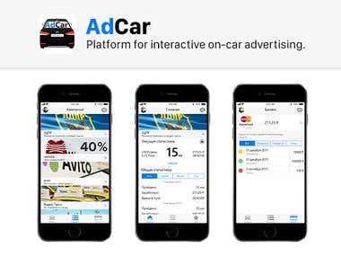 AdCar - Platform For Interactive On-Car Advertising