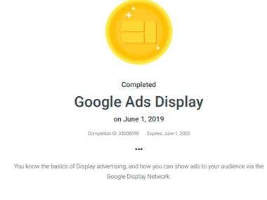Google Display Ad Certified
