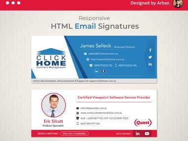 HTML Email Signatures