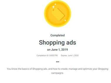 Google Shopping Ads Certified