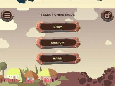 Various game apps UI and ART
