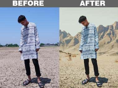 Photo Manipulation and Background Removal 2