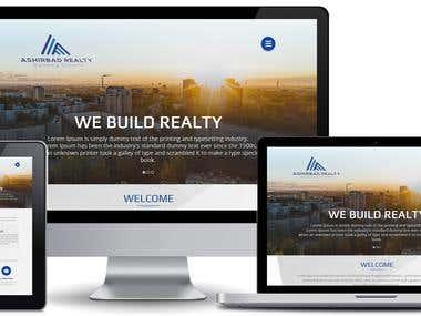 Ashirbad Realty - Template