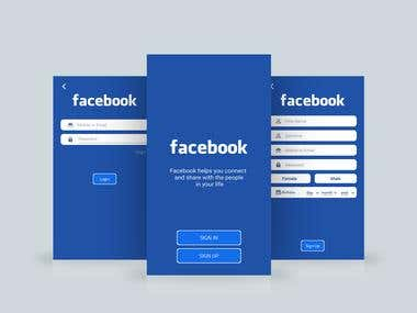 Facebook Sign In And Sign Up
