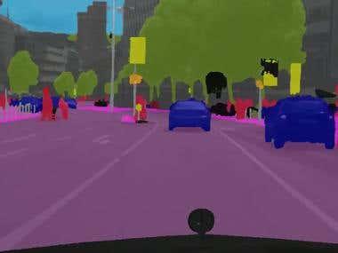AI based Semantic Segmentation for Road Scenes