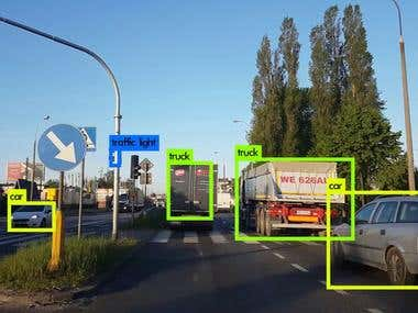 Object detection with deep learning models
