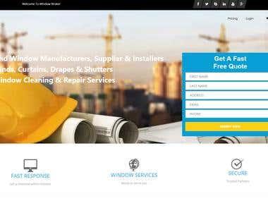 WindowBroker Marketing Website