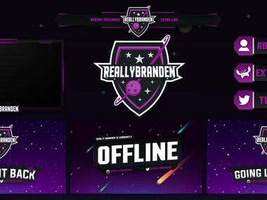 Really Branden Twitch Pack