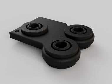 Rubber Wheels Render