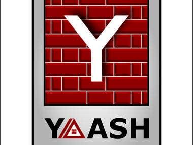 Logo Design for Yash Constructions