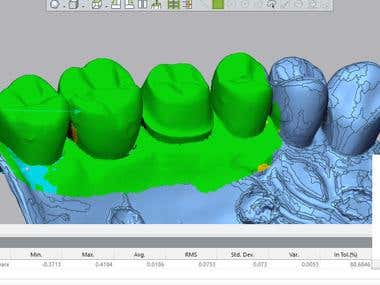 3D Model Analysis using Geomagic