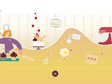 GANDOM Cookery & Pastry Academy Illustration
