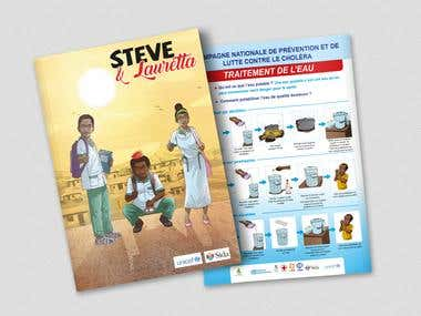 DESIGN AND CREATION OF COMMUNICATION MATERIALS for UNICEF