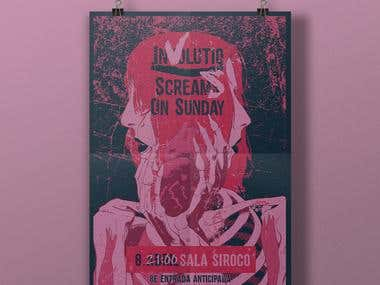 Siroco concert Poster