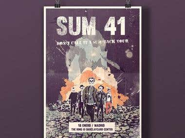 Sum-41 inspired poster