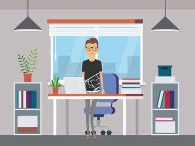 character Explainer Video