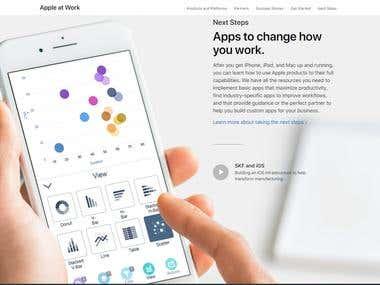 mobile app (ionic)