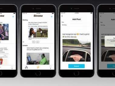 Streme - social networking