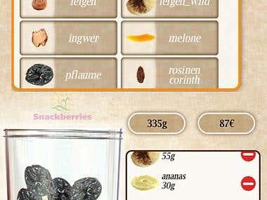 Nuts&Fruits HTML mixer