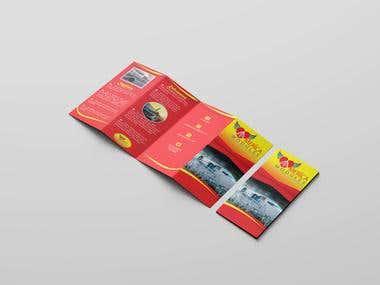 Quad Fold Brochure/Pamphlet Design