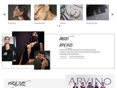 E-Commerce Jewelry Web site
