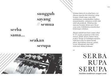 Serba Rupa Serupa - Poster