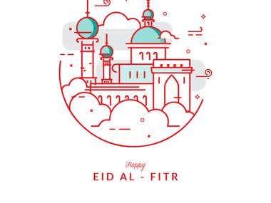 Eid Al Fitr - Card