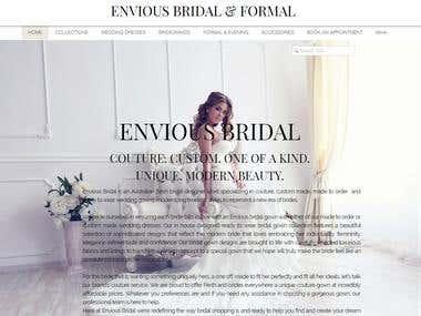 Bridal Wedding Gowns Website