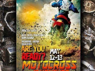 Poster of Moto cross
