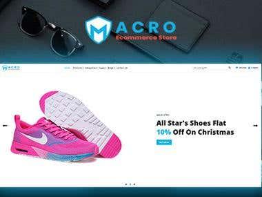 Macro - Ecommerce Multistore Template