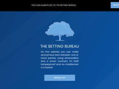 Betting Bureau using Blockchian Technology