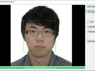 Facial recognition & age and gender estimation